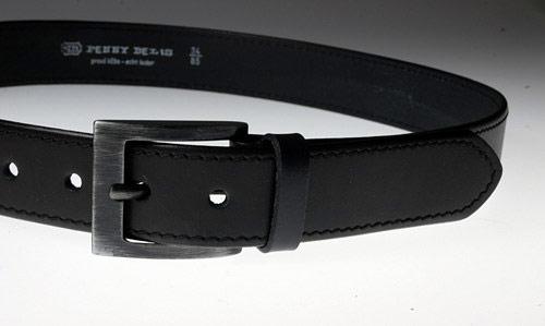Pánsky kožený opasok 14-1-60 čierny cbba0e32b4a