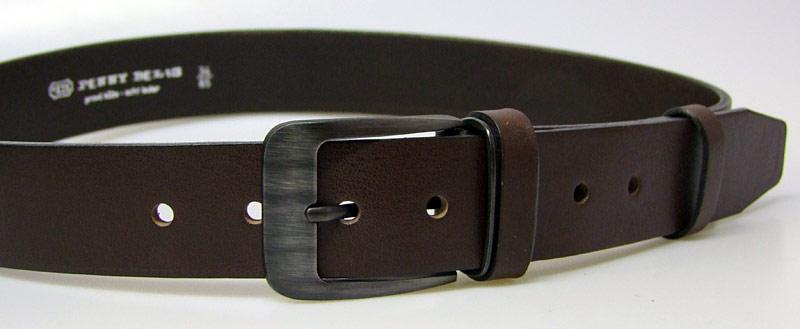 8cb0c0e0c088 Pánsky kožený opasok 2-PR1-40 hnedý